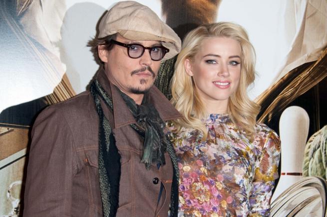 Johnny Depp e Amber Heard, amore al capolinea: lei ha chiesto il divorzio